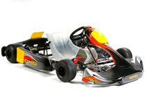 CRG black star 09 Make the Move from Indoor to Outdoor Karting! K1 Speed Can Help!