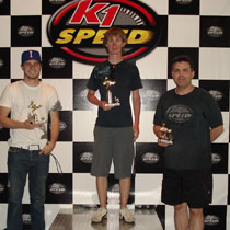 K1 Speed Irvine - April 2009 Challenge GP Results!