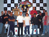 GP Results at K1 Speed Carlsbad