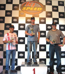 NASCAR Toyota All-Star Showdown Drivers K1 Speed Visit