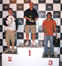 K1 Speed Ontario - March 2009 Reverse Super Track Challenge GP Results