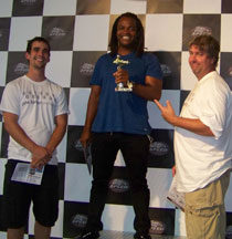 X-Games Host Sal Masekela Visits K1 Speed Torrance