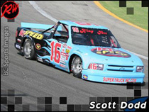 Scott Dodd Races in The K1 Speed Super Truck