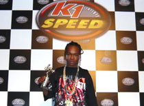 "hurricane chris ana Hurricane Chris Dooley Brings some ""A Bay Bay"" Cheer to K1 Speed Anaheim"