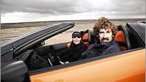 K1 SPEED Partner Boris Said testing the new Lamborgini Mucielago