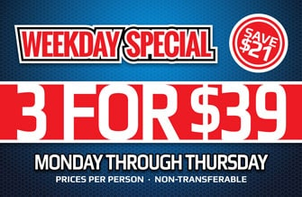 K1 Speed Weekday Special