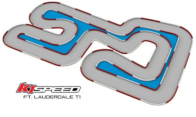 K1 Speed Ft. Lauderdale Track 1