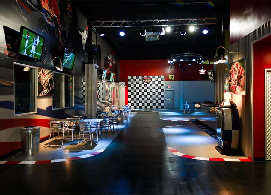 K1 Speed San francisco lobby