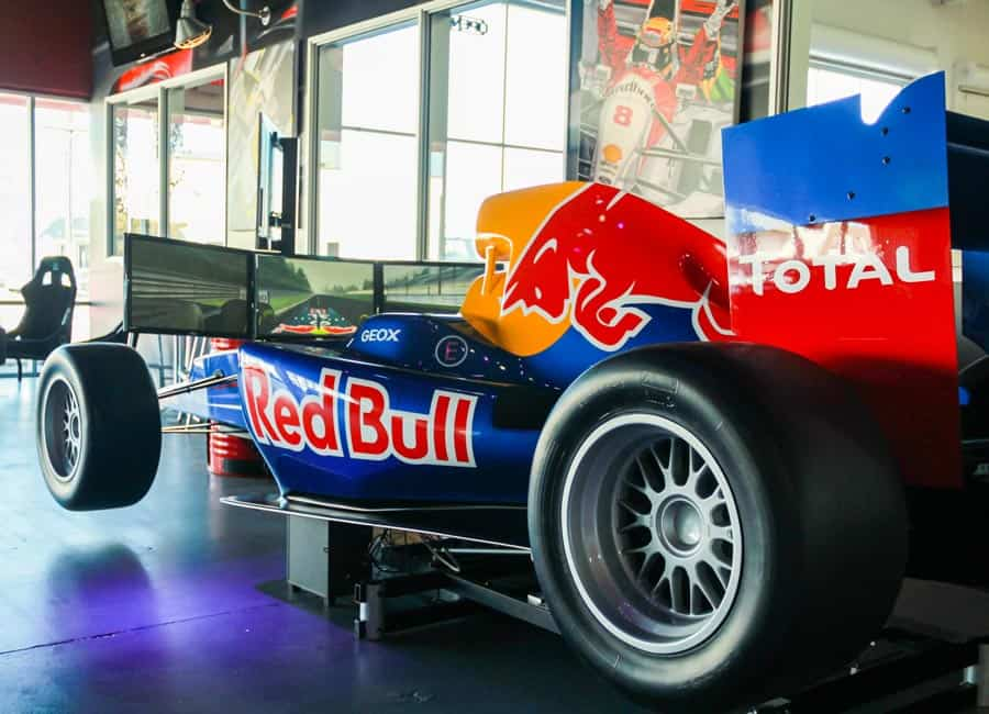 Red Bull Racing Simulator at K1 Speed San Francisco