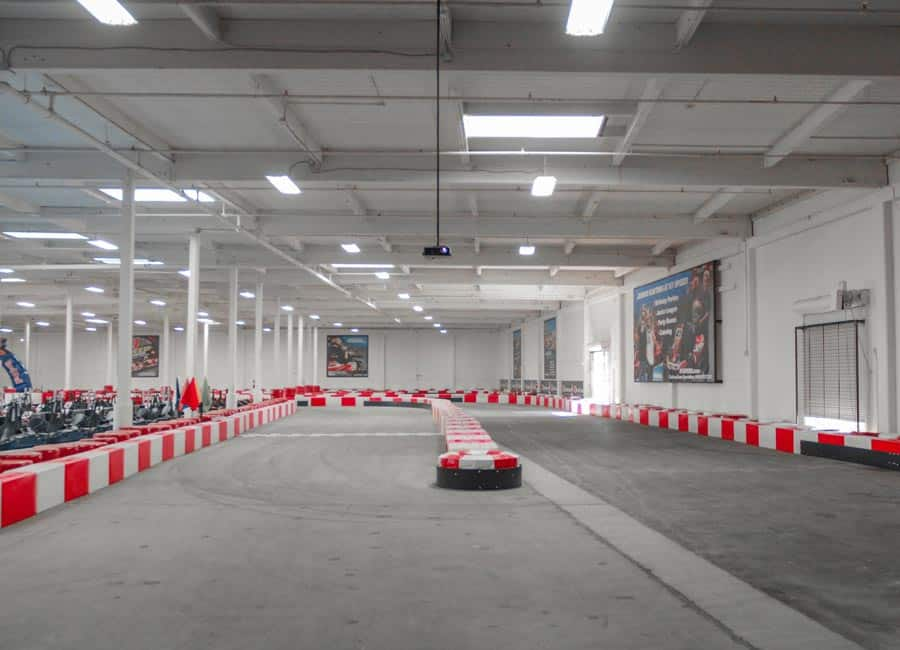 The hairpin at K1 Speed San Francisco