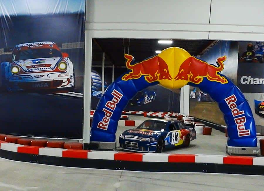 K1 Speed Red Bull Arch