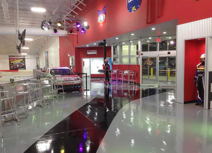 k1speed arlington entrance
