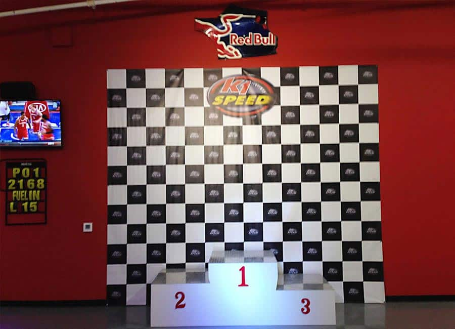 k1 speed arlington podium