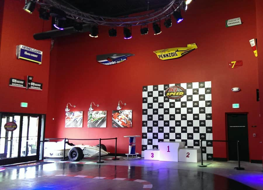 K1 Speed Denver Entrance