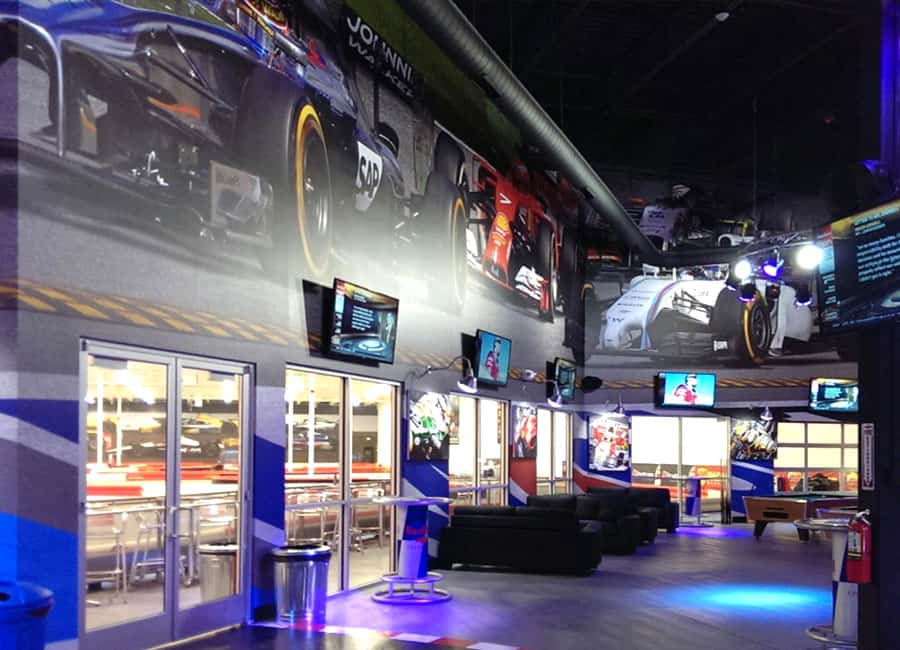 K1 Speed Denver Lobby