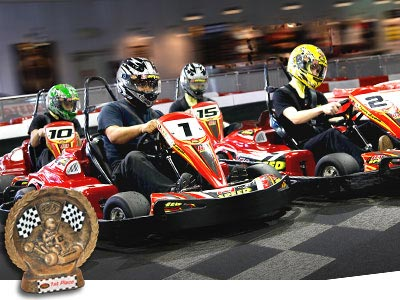 K1 Speed is also a great idea for birthday parties too! Did you know that the indoor GoKarts are the fastest in the industry? Each of the karts have 20 horse power, and .