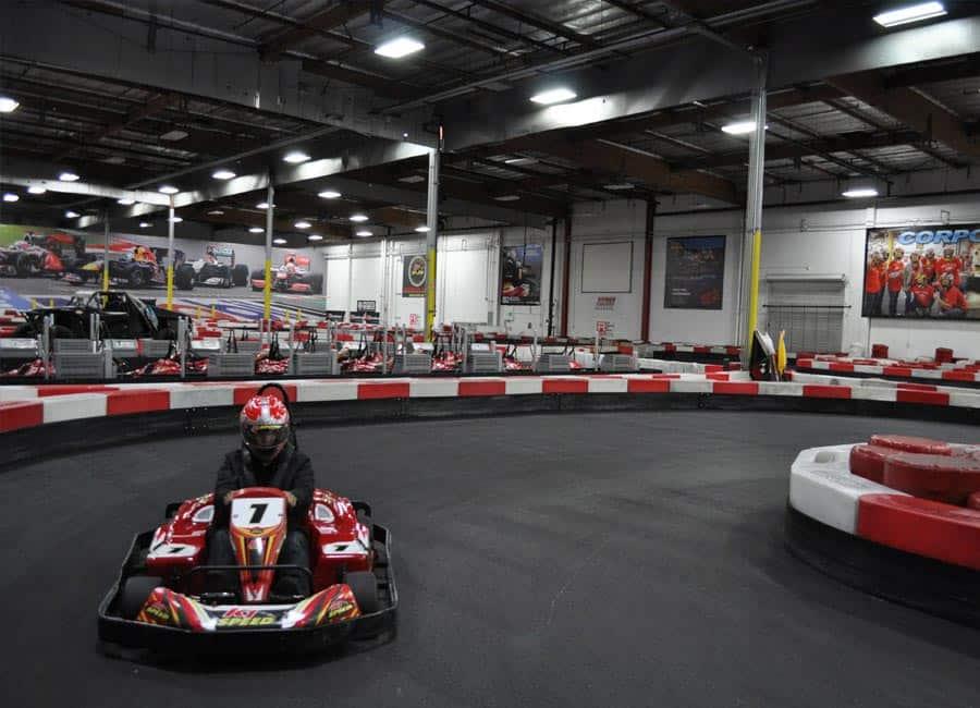 Speed Indoor Go Kart Racing Irvine