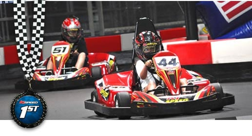 We are confident that once you try K1 Speed, you will agree with us that we offer the most exciting indoor go kart racing in the Seattle, Redmond, Bellevue and King County area. If you would like to come in or are interested in scheduling a private party, please feel free to contact K1 Speed .