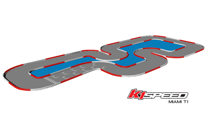 K1 Speed Miami Track 1