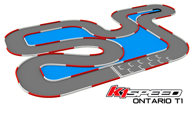 K1 Speed Ontario Track 1