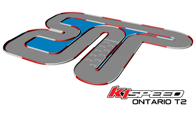 K1 Speed Ontario Track 2
