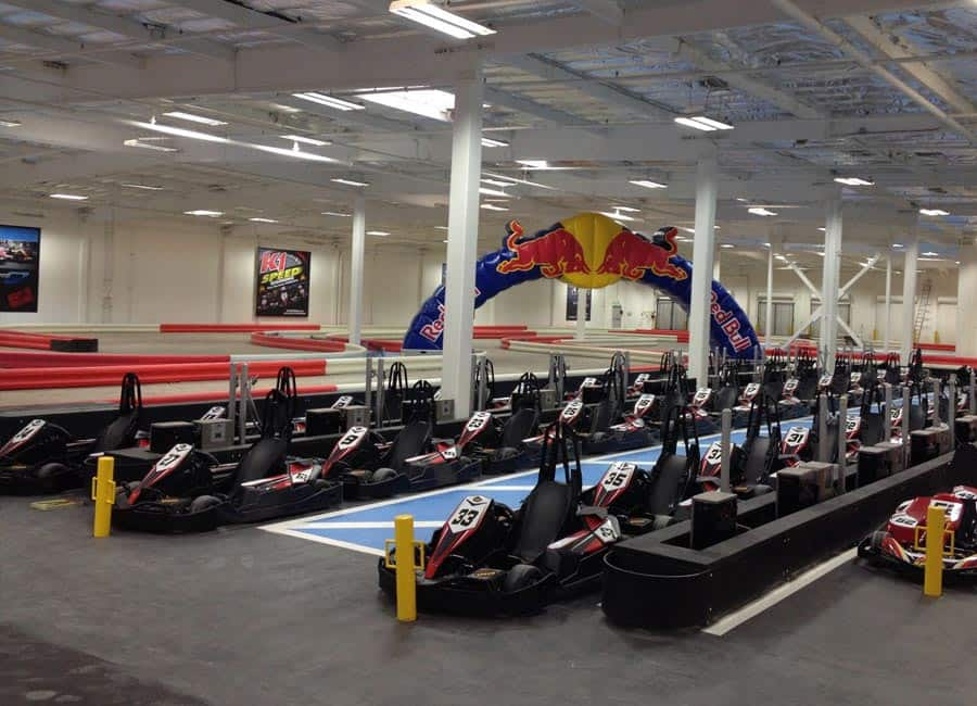 As with all K1 Speed locations, our K1 Speed Carlsbad indoor karting location in North County, San Diego uses environmentally friendly, all-electric go-karts. With 20hp electric motors and maximum torque available from 0 rpm, the karts feature superb kolyaski.mlon: CORTE DEL ABETO, CARLSBAD,