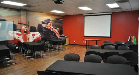 K1 Speed Irvine Indy Room
