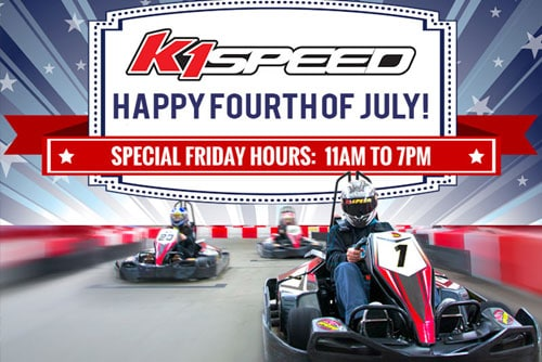 4th of July at K1 Speed