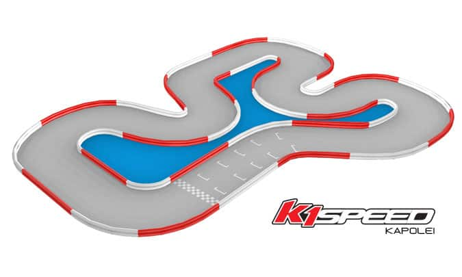 K1 Speed Kapolei Track Update February 2015