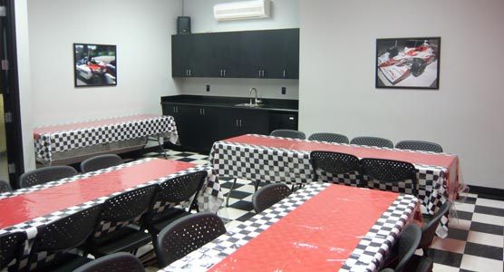 K1 Speed Kapolei Indy Room
