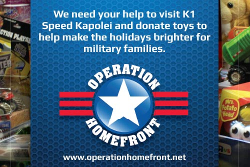 Operation Homefront Toy Drive