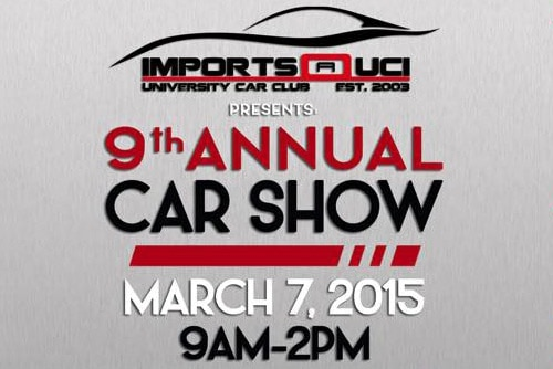 9th Annual UCI Car Show
