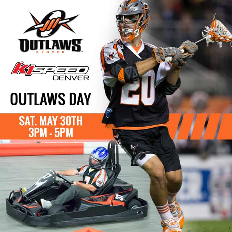 Highlands Ranch Lacrosse: Outlaws Day At K1 Speed