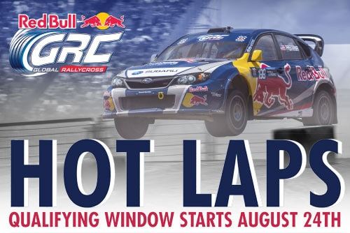 Red Bull Hot Laps Contest