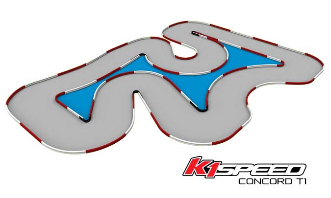 K1 Speed Concord Track 1