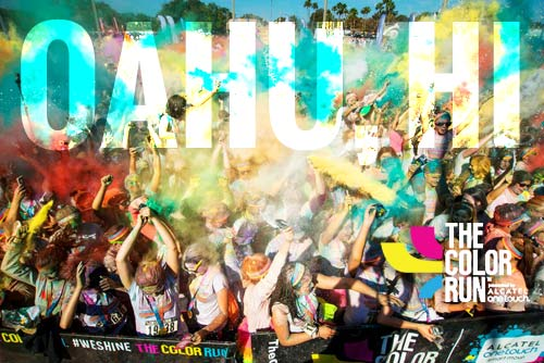 The Color Run™ Debuts 2015 Shine Tour™ in Oahu