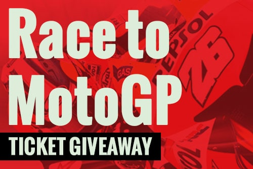 Race to MotoGP Ticket Giveaway