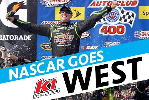 NASCAR Goes West through K1 Speed