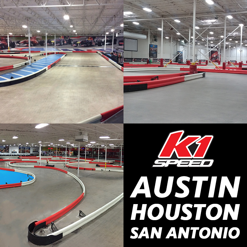 K1 Speed New Track Layouts In Texas Centers