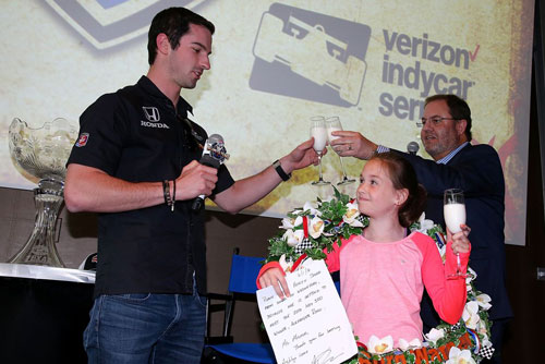 Ashlyn Speed Meets Alexander Rossi