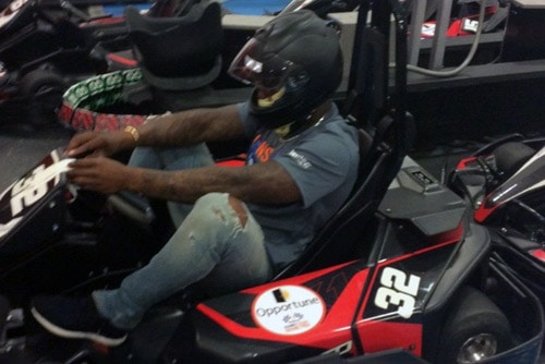 Super Bowl MVP Von Miller goes Racing for Charity