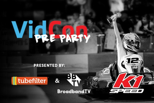 6th Annual Tubefilter VidCon Pre-Party—Fueled By BBTV