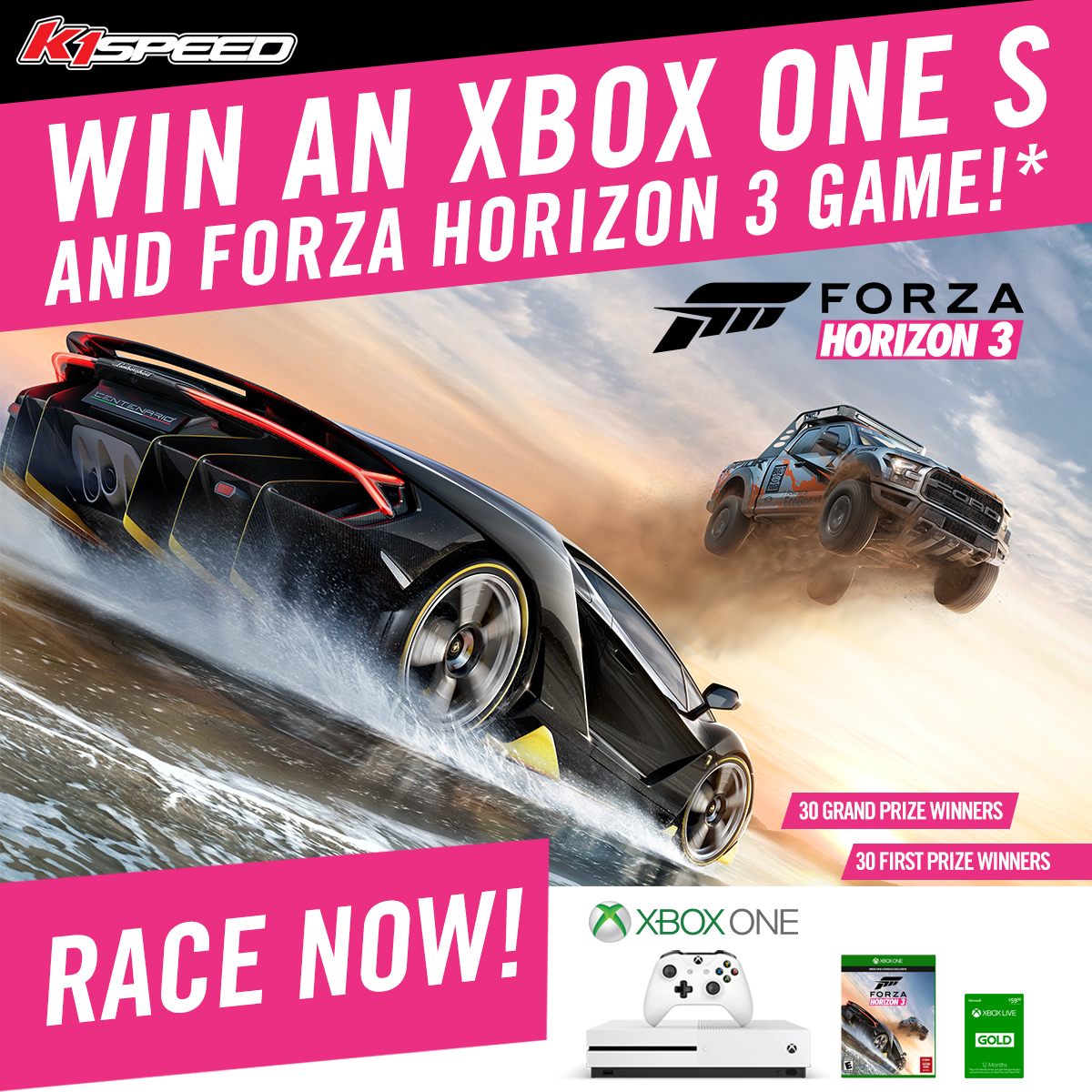 Calling all gamers and race fans test your skills on our tracks nationwide for a chance to win an xbox forza horizon 3 launch giveaway