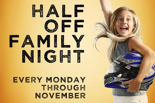 Half Off Family Night SLC