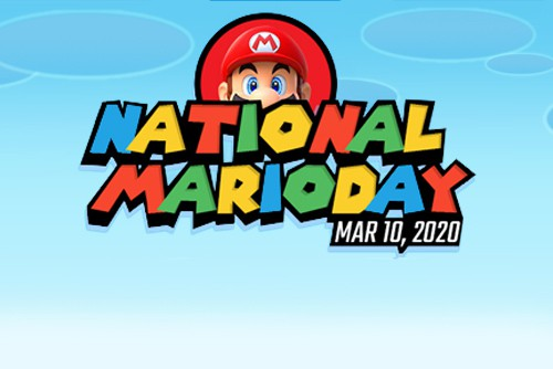 featured image for national mario day deal with date and picture of mario