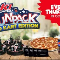 Family Fun Day Special: Races, Pizza + Drinks, & More