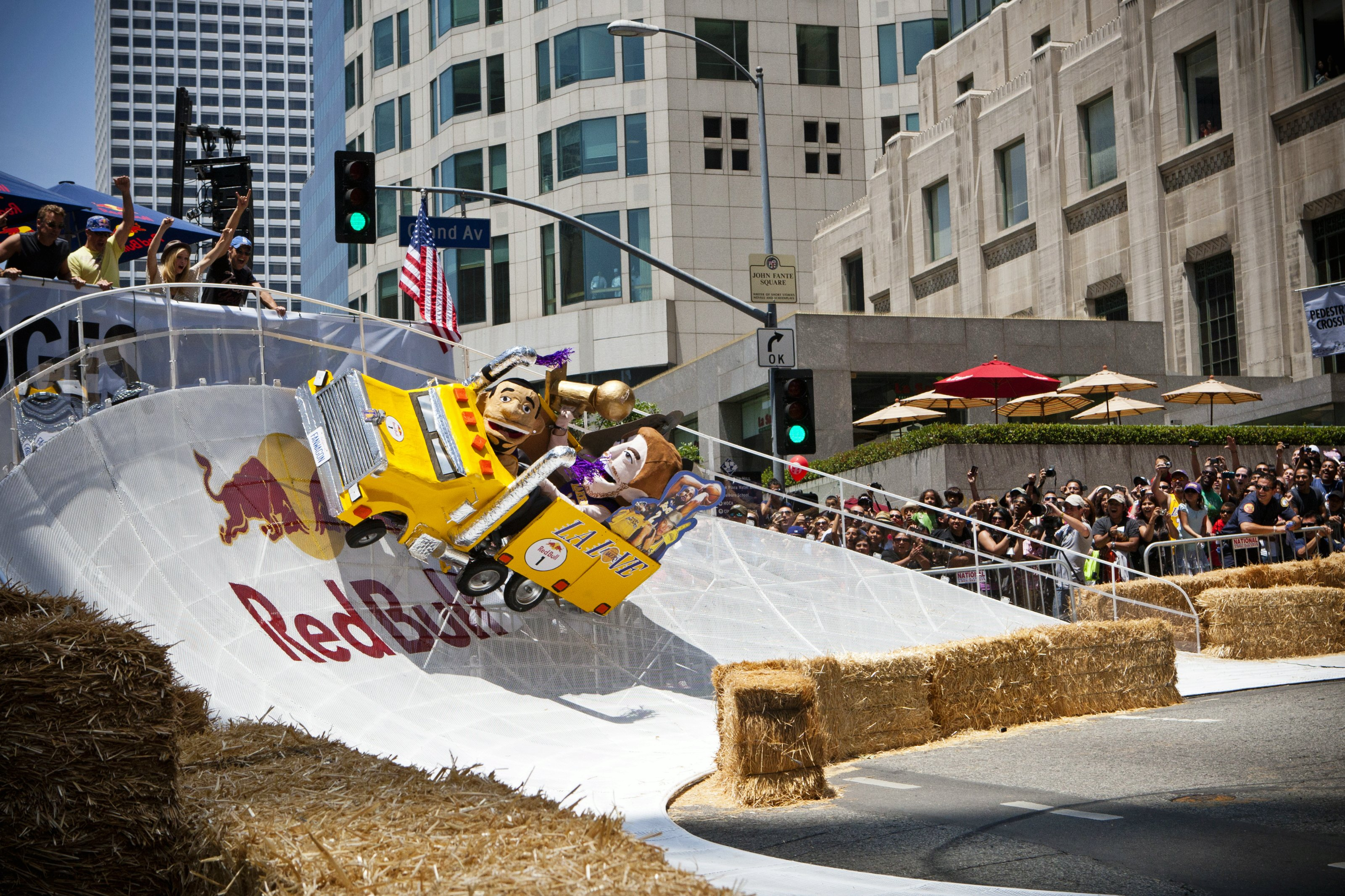 Red Bull Soapbox Race Los Angeles - Ramp