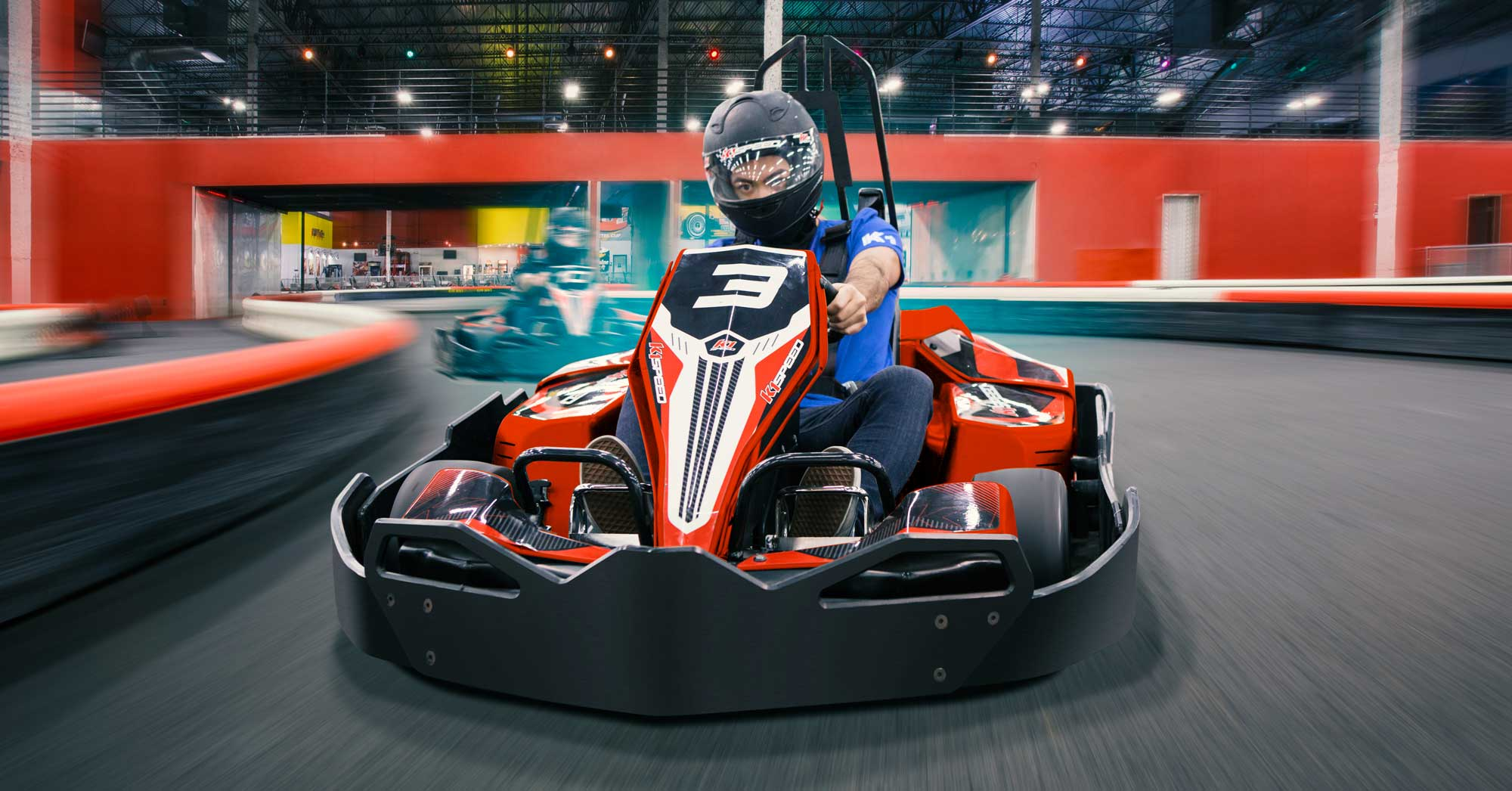 EXPERIENCE THE FASTEST INDOOR KARTING IN ATLANTA