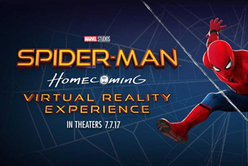 Spiderman Homecoming VR Experience
