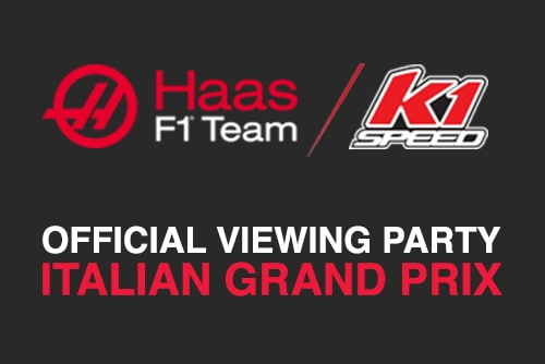 You are invited to the Official Haas F1 Viewing Party | Italian Grand Prix